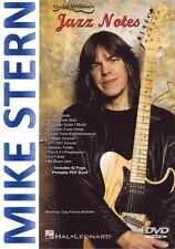 Mike Stern Jazz Notes DVD NEW 000110242