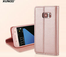 Xundd Noble Magnetic Leather Case for Samsung Galaxy S5, S6, S7, S7 edge, Note 8
