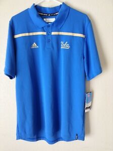 UCLA Bruins Adidas 2015 Climalite Polo Shirt Size L Sample - New With Tags