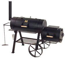 "JOE ́s  BBQ SMOKER ""Longhorn"" 40,6 cm / 16 Zoll jetzt mit längerem Rauchrohr!!!"