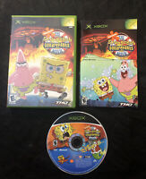The SpongeBob SquarePants Movie — Complete! Damaged Manual! Microsoft Xbox, 2004