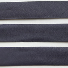 Ruban Biais Replié 20 mm Coton Polyester Vendu par 5 Mètres Plusieurs Coloris au