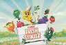 NEW Coles Fresh Stikeez Collectors Case + Little Shop Apron & Shopping Bag Set