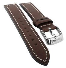 Festina Ersatzband Uhrenarmband Leder Band 21mm Dunkelbraun F16169/6