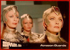SPACE 1999 - Card #47 - Amazon Guards - Unstoppable Cards Ltd 2015