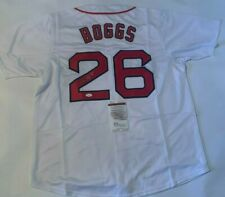 Wade Boggs Autographed Boston Red Sox Jersey 'HOF 05' JSA Witnessed COA