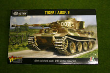 Tanque Alemán Tiger 1 Ausf E Perno acción Warlord Games 28 Mm Sd
