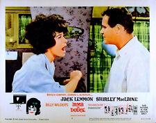 IRMA LA DOUCE 1963 Jack Lemmon, Shirley Maclaine - Billy Wilder LOBBY CARD #2