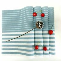 Placemats Set of 4 Washable PVC Woven Non slip Dining Table Mats Heat Resistant