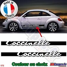 2 Bandes Bas de caisse Coccinelle pour New Beetle - Autocollants Stickers - 173