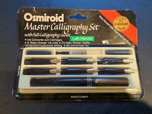 Vintage Osmiroid Master Calligraphy Set - Left Hander - Left Handed -AS PICTURED