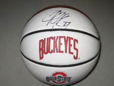 Jimmy Jackson Ohio State Buckeyes Legend Signed Logo Basketball PROOF NBA