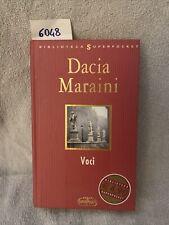 Dacia Maraini Voci