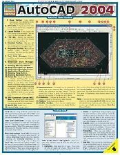 Autocad 2004 (Quick Study Computer), BarCharts, Inc., Good Book