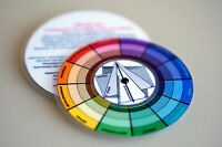 Pocket Color Wheel, Artist Paint Mixing Guide, High Quality, Select Variations