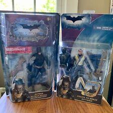Batman Begins Bruce to Ninja The Dark Knight 2007 Action Figure Mattel Nib Lot