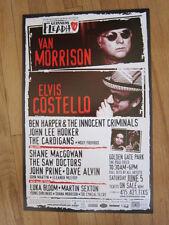 Van Morrison & Elvis Costello Shane MacGowan John Lee Hooker Ben Harper poster