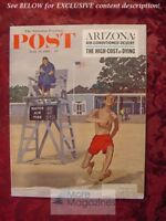 Saturday Evening POST June 17 1961 Jun 6/17/61 DICK SARGENT NORMAN REILLY RAINE