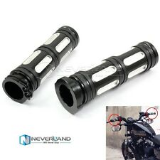 """1"""" 25mm CNC Handle Bar Hand Grips For Harley Sportster Touring Dyna Softail BMW"""