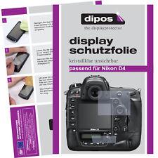 2x Nikon D4 Protector de Pantalla protectores transparente