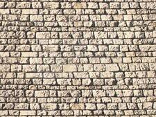 NOCH 57560 - Muro in pietra, cartoncino in rilievo 3D. Scala H0, TT