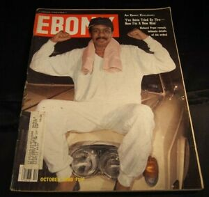 Ebony Magazine October 1980 Richard Pryor 13x11 Journal