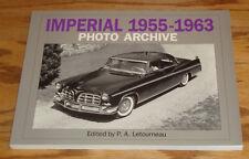 Chrysler Imperial 1955 - 1963 Photo Archive Book P.A. Letourneau
