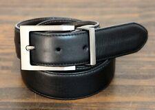 WENGER REVERSIBLE BLACK BROWN GENUINE LEATHER PVC CASUAL MEN'S BELT 40 (E94