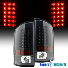 For 2002-2006 Dodge Ram 1500 2500 3500 Led Tail Lights Brake Lamp Black (Fits: Dodge)