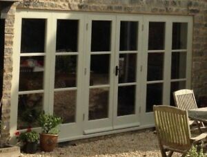 Hardwood Timber French Doors with double sidelights! Bespoke! Made to measure!