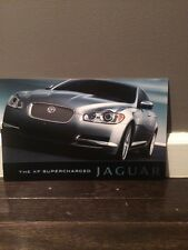 2010 Jaguar XF Supercharged New Vehicle Brochure