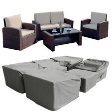 Rain Cover for Garden Rattan Sofa  Set  of 4PCS Patio Conservatory 4 Seater