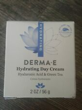 Derma E Hydrating Day Cream Vegan Hyaluronic Acid Green Tea 2oz New 01/2023 ASAP