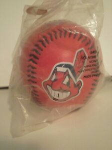 Cleveland Indians photo ball from 2001