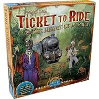 Ticket to Ride The Heart of Africa Board Game EXPANSION | Board Game for Adults
