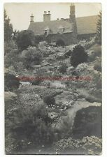 Gloucestershire Icomb nr Stow on the Wold Empire Day 1919 RP Vintage Postcard
