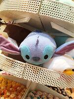 "New Disney Store Tsum Tsum Lilo & Stitch STITCH Medium 11"" Plush Toy Doll"