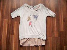 @ ESPRIT @ dünner Pullover + TankTop Lagenlook weiß-rosè  Size S