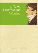 E.T. A. Hoffmann Werke / Romane Erzählungen / CD ROM Digitale Bibliothek Nr. 8