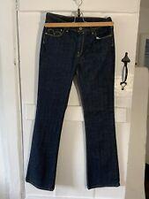 Levis 629 Stretch Bootcut Dark Blue Womens Jeans W30 L34