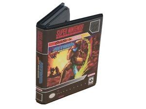Super Metroid Zero Mission Nintendo Cartridge SNES CASE Protector Box NO GAME