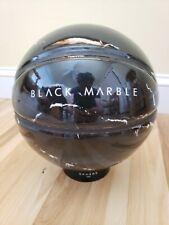 New listing NEW Black Marble Design Basketball Ball Sphere Paris