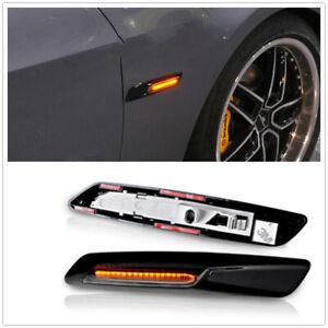 18LED Fender Side Marker Turn Signal Light For BMW 5 Series E39 E60 F10 F12 damo