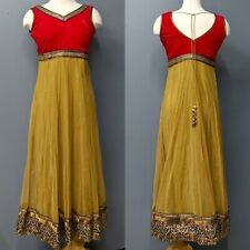 Stunning Indian Pakistan Moroccan Style Embellished Dress/Size