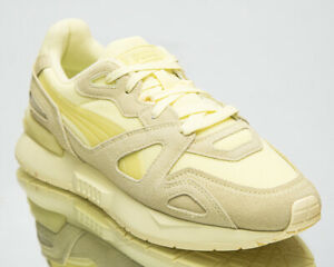 Puma Mirage Mox Mono Men's Yellow Pear White Lifestyle Shoes Athletic Sneakers