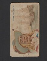 1888 Allen & Ginter N19 Pirates of the Spanish Main #10 PETER THE GREAT