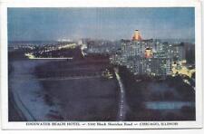 EDGEWATER BEACH HOTEL,SHERIDAN ROAD~ CHICAGO,IL