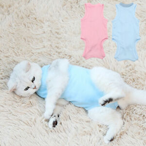 GF Female Cat Sterilization Surgical Recovery Clothes Pet Infection Wound Care