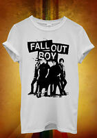 Fall Out Boy Rock Band Bomb Novelty Men Women Unisex T Shirt Tank Top Vest 33