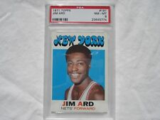 1971 Topps ABA basketball card #191 Jim Ard, New York Nets PSA 8